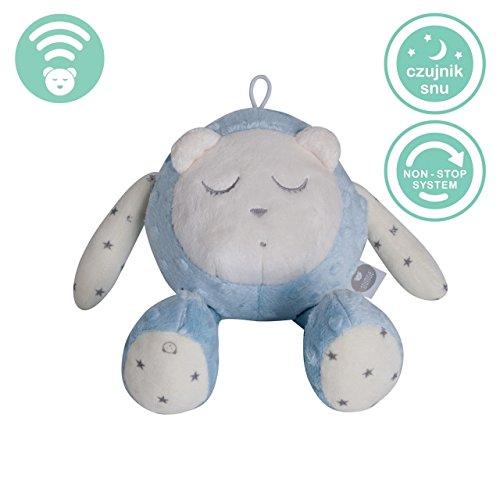 Myhummy (Szumisie) Snoozy bruit Blanc jouet avec détecteur de Cry et non Stop System (Bleu) (Maschine Sleep Aid)