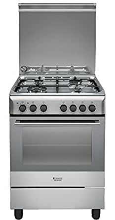 Hotpoint H6TMH2AF (X) IT Freestanding Cucina a gas (cucina ...