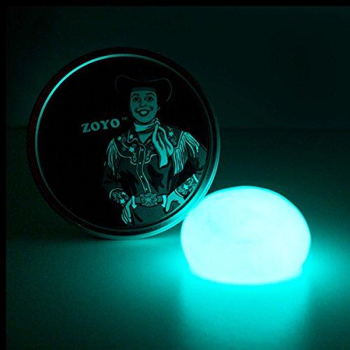 Leuchtende, Intelligente Knetmasse - Glow in the Dark fluoreszierende, schlaue Knete
