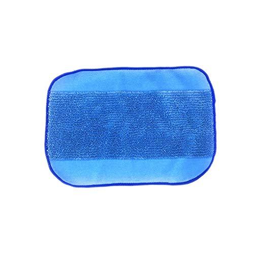 Meisijia 03.01/5 / 10pcs Ersatz für Braava Jet iRobot 380t / 320/4200 / 5200C Wet Mikrofaser Mopping Tücher Wiederverwendbare Mop Pads (Wiederverwendbare Pads Jet Wet)