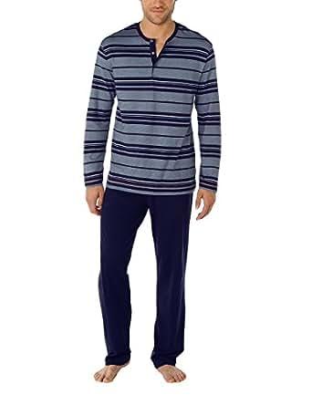 calida herren zweiteiliger schlafanzug pyjama sicilia gr. Black Bedroom Furniture Sets. Home Design Ideas