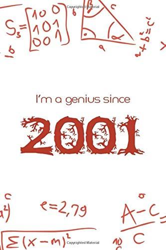 I'm a genius since 2001 : Maths