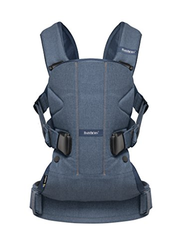 BABYBJÖRN Baby Carrier One      Classic denim/Midnight blue, Cotton Mix