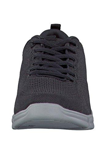 TAMARIS Damen Sneakers Schwarz Black Uni