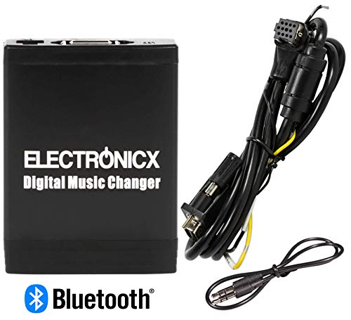 Electronicx Elec- M06-PION-BT Adaptateur autoradio USB MP3 AUX SD CD Bluetooth kit Mains Libres Interface pour Pioneer