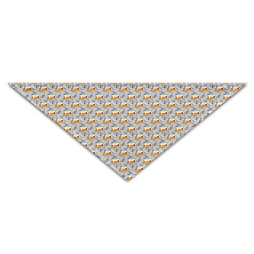 ailers and Flamingos Baby Pet Triangle Head Scarfs Dog Scarves Puppy Triangle ()