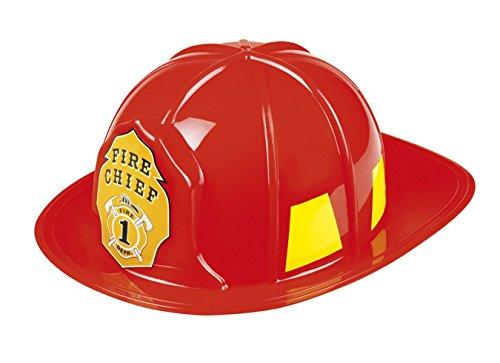 Feuerwehrmann Erwachsene Kostüm Für (Boland 01387 Helm Feuerwehrchef, Kostüm, One)