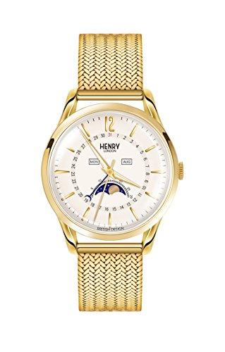 Henry London Unisex-Armbanduhr HL39-LM-0160