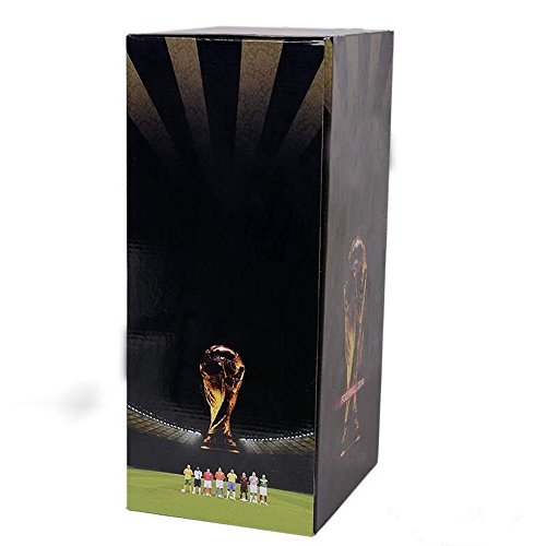2018 World Cup Trophy Replica Soccer Fans Souvenir with Color Box - 5 Inch Tall