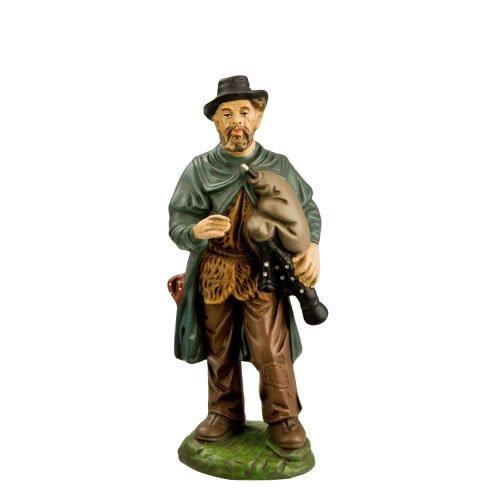 MAROLIN Hirte alt mit Dudelsack, zu 14cm Figuren