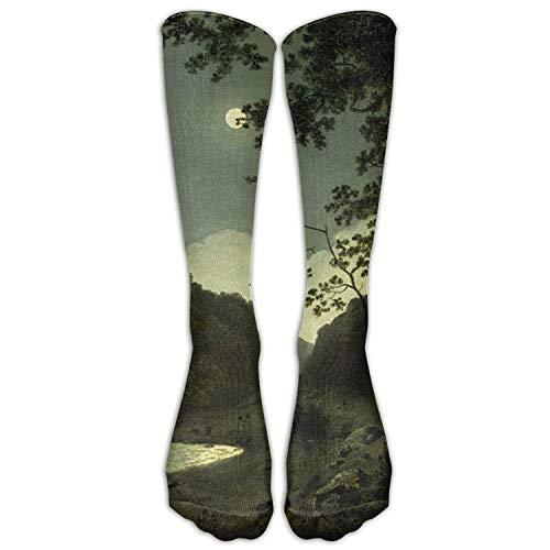 Kostüm Joseph Muster - Gped Kniestrümpfe,Socken X Joseph Wright Classic Art Athletic Tube Stockings Women's Men's Classics Knee High Socks Sport Long Sock One Size Length 50CM