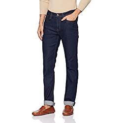 Lee Men's Skinny Fit Jeans (L30434248147034033_Rinsed Indigo)