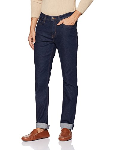 Lee Men's Skinny Fit Jeans (L30434248147034033_Rinsed Indigo)