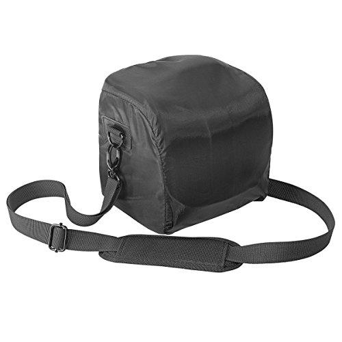 carcasa PEDEA para Sony SLT-A58K / A58Y / A37K, Panasonic Lumix DMC-FZ1000, Nikon Coolpix P900 Canon EOS 1100D con el protector de la pantalla Negro / Rojo