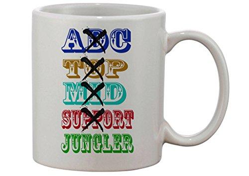 Gamer Quote Jungler Only Custom Made Mug Wow Mug