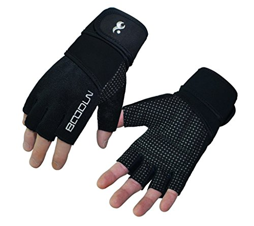 Kungken-Men-Women-Wristwrap-Weight-Lifting-Gloves-With-Non-Slip-Silicone-Palms-Provide-Support-For-Gym-Workout-Crossfit-Fitness-Kettlebell-Yoga-WOD-Cross-Training