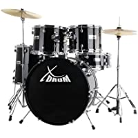 XDrum Classic Drum Set complet en noir