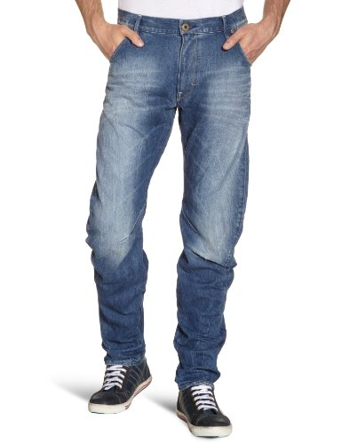 G-STAR Herren Loose Tapered Jeans Arc 3D Loose Tapered, Gr. 33/32, Blau (medium aged 71)