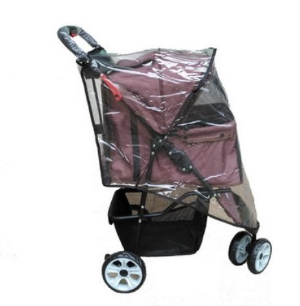 3Rad Buggy Regenschutz (Hund Puppy Katze Haustier reisen Buggy Kinderwagen Kinderwagen Jogger Buggy Schwenkräder Regen Cover)