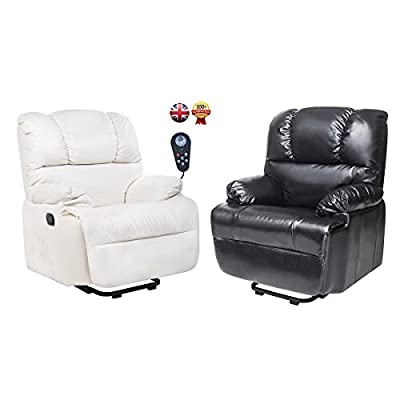 Btm Electric Synthetic Leather Automatic Massage Chair Recliner Armchair Sofa Home Lounge Chair from BTM