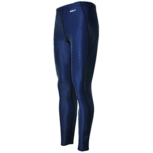 Zhhlaixing Unisex Surfing Leggings Sun Protection Yoga Baden Surfing Diving Dark Blue