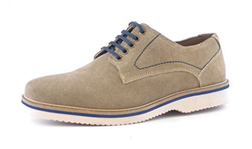Henkelman Cafe Moda ante Business Zapatos Casual Gris, color Gris, talla EUR 42