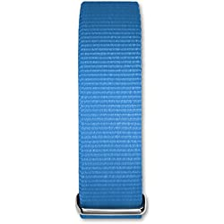 Bruno Banani Damen Herren Uhrenarmband - Textil/Nylon-Armband blau ohne UBRACCBL