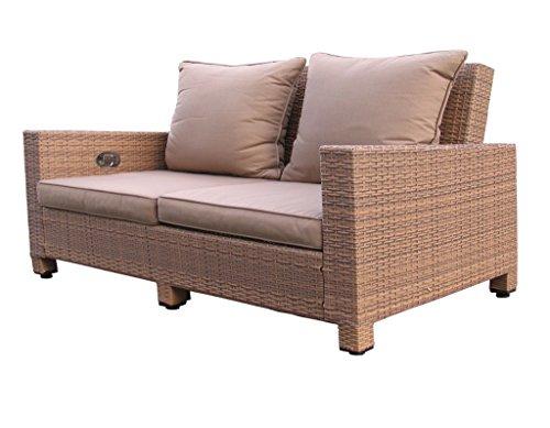 Lounge Sofa Lanzarote 3 sitzig verstellbar