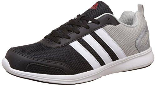 adidas Men's Astrolite M Black, Metsil, White And Scarle Running Shoes - 8 UK/India (42 EU)
