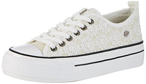 fiorucci-damen-fepa002-sneaker-weiss-bianco-38-eu