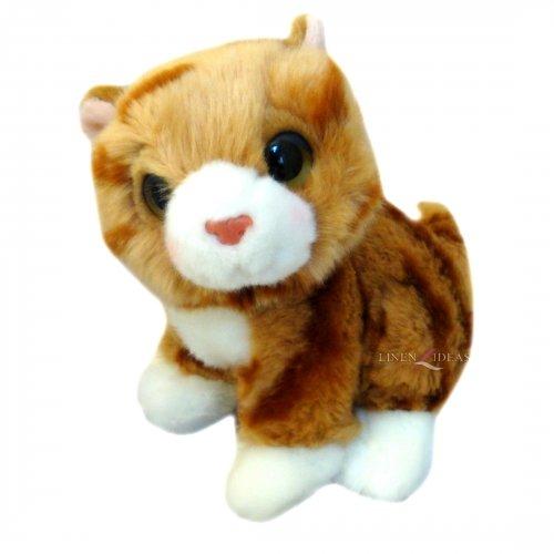 Lamo Posh Paws Katzen 'braun' 17,8cm Soft Toys (Cat Football Kostüm)