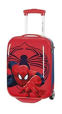 Joumma Bags Trolley, ABS, 50cm, 2 Rollen, Hartschale Spiderman-Rot