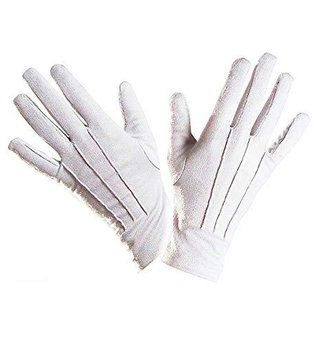 Kostüm Hut Und Weißen Schwanz - Hi Fashionz Erwachsene Kinder Katze Schicke Verkleidung Kostüm Hut Übergröße Fliege Schwanz Handschuhe Büchertag Kostüm Einheitsgröße - Weiße Handschuhe, One Size