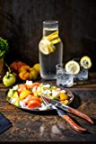 Laguiole Style de Vie Steakmesser Luxury Line, 6-teilig, Rosenholz - 8
