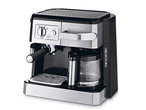 DeLonghi BCO 420.1 Kombi Espresso-Kaffeemaschine schwarz/silber