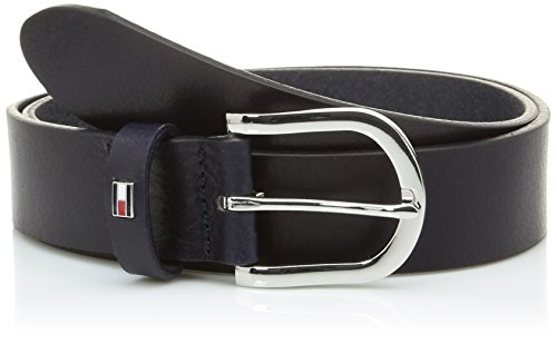 Tommy Hilfiger Damen Gürtel NEW DANNY BELT Blau (NIGHT SKY 421) 95 cm