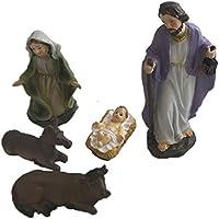 GUIRMA Set de 5 Figuras del Nacimiento para Belén