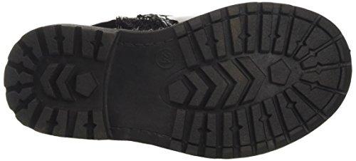 Frozen Fro0705, bottes de motard fille Noir