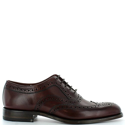 loake-uomo-borgogna-fearnley-brogue-scarpe-uk-8