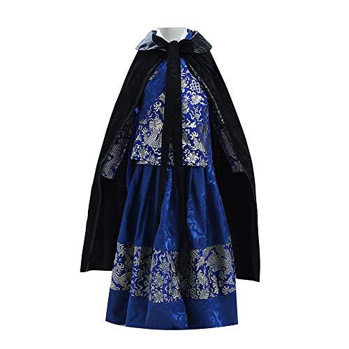 Chenyang86 Hanfu - Kostüme Vier berühmte Pavillons Jinyiwei Kostüme (Farbe : Blau, größe : 150cm)