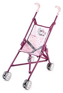 Smoby Baby Nurse 220406 - Cochecito de bebé, Color Rosa