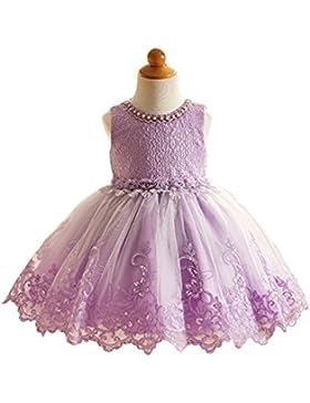 Vestido de niña de flores vestido de chiffón y gasa para fiesta de boda de 3-10 años estilo princesa elegante...
