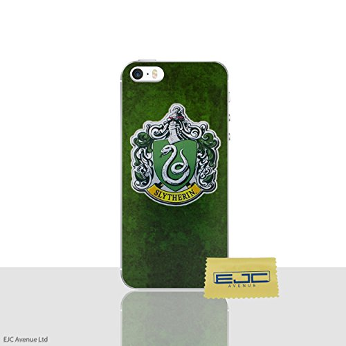 Funda de Silicona para iPhone 5 / 5s / SE Harry Potter Houses  Slytherin