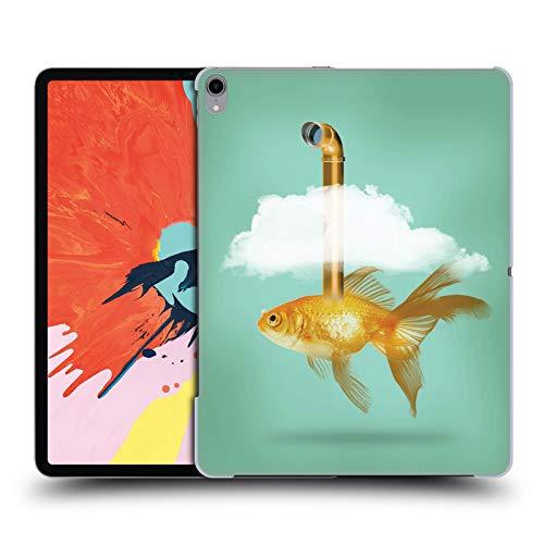 fizielle Vin Zzep Periskop Goldfisch Fisch Harte Rueckseiten Huelle kompatibel mit iPad Pro 12.9 (2018) ()