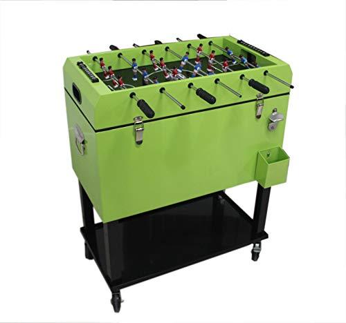 PHG Tischkicker mit integrierter Kühlbox im Retro-Look