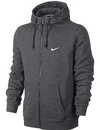 Nike Hombres del Club Cremallera Completa Sudadera con Capucha - 823531-071-LARGE,