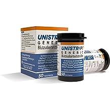 UniStrip1® GENERIC tiras reactivas para OneTouch® Ultra® 50 unidades