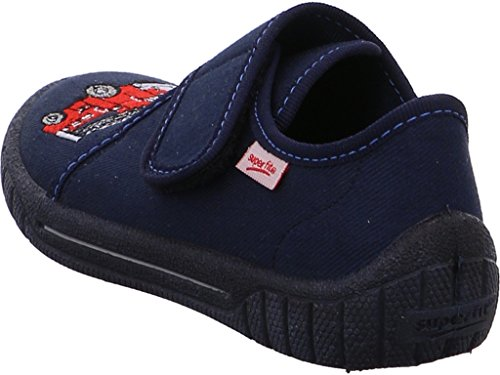 Superfit  0-00270-80, Chaussons pour garçon bleu océan