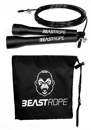 speed-skipping-rope-by-beast-gear-crossfit-boxing-mma-adjustable-length-cable-with-lightweight-stron