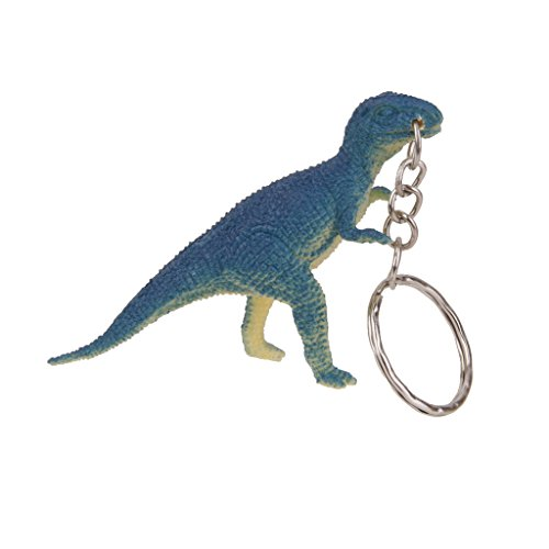 12pcs Juegos de Colgantes Llaveros en Forma de Dinosaurio para Bolso Coche